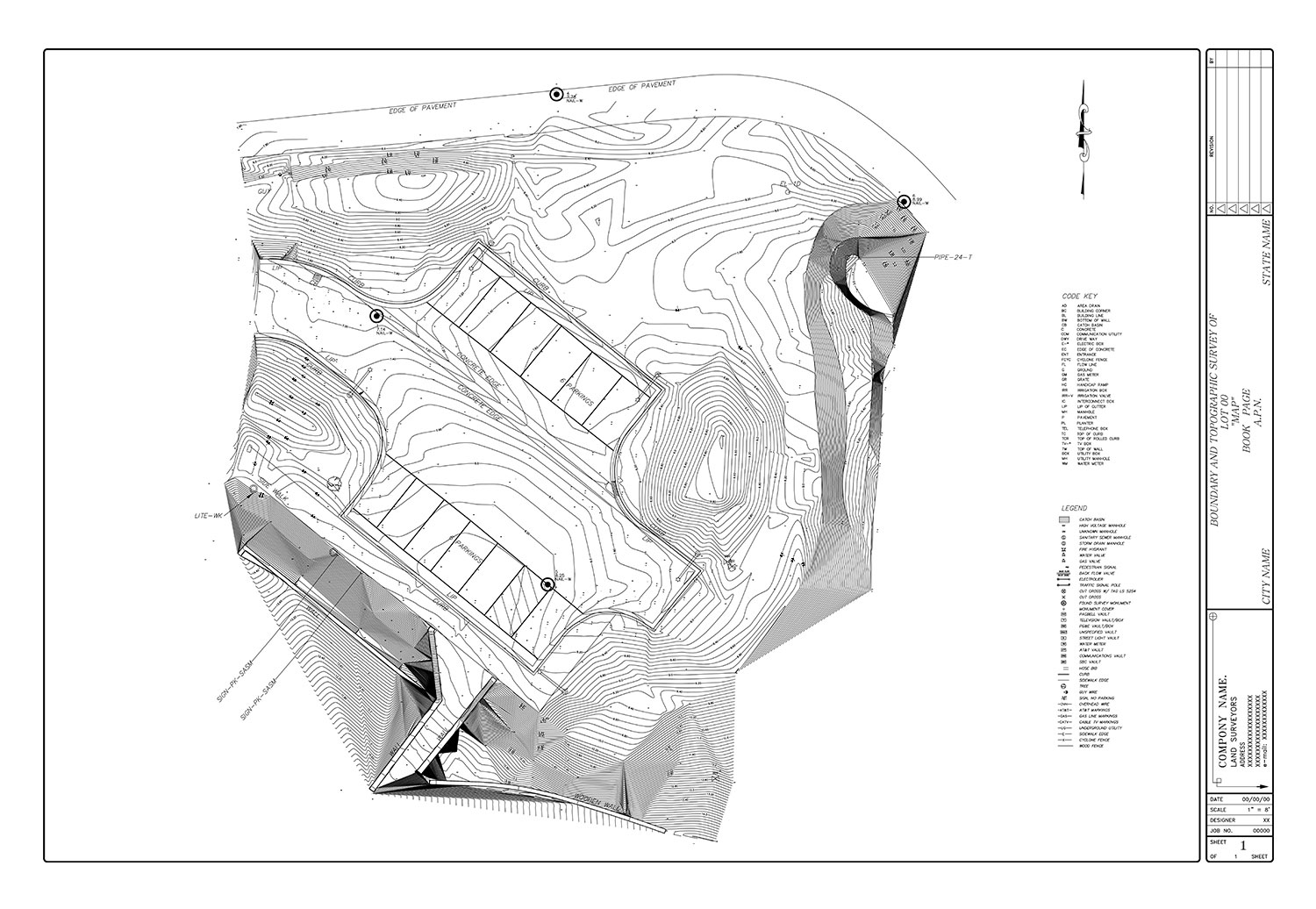 Land Survey Drafting Services: ALTA, Boundary, Topographic | CAD